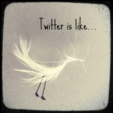 Twitter analogy